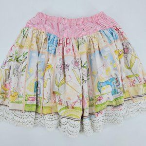 Giggle Moon Lily Of The Valley Connie Circle Skirt
